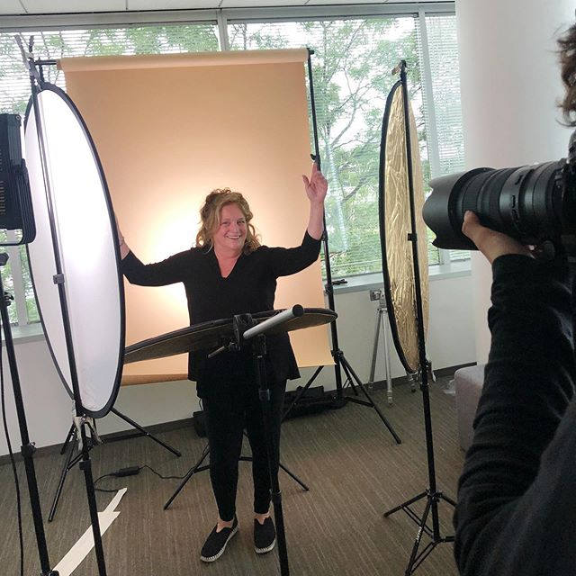 Peak behind the scenes of our recent photo shoot. See our team getting ready for the spotlight as we unveil exciting changes at Whitney. Stay tuned for an announcement next week! . . . #whitneyarchitects #123NWacker #chicago #windycity  #workplaces #officedesign #interiordesign #architecture