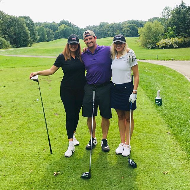 @whitneyarchitects was a proud sponsor of yesterday's @corenet_global - Chicago chapter golf outing. Sarah Maracccini was joined by Erica Rogers of @jll and Matt Nemshick of @dwhammer_llc. Matt was the big winner for they day hitting a hole-in-one with his Kirkland golf ball and winning a brand new BMW thanks to @pepperconstruction.
