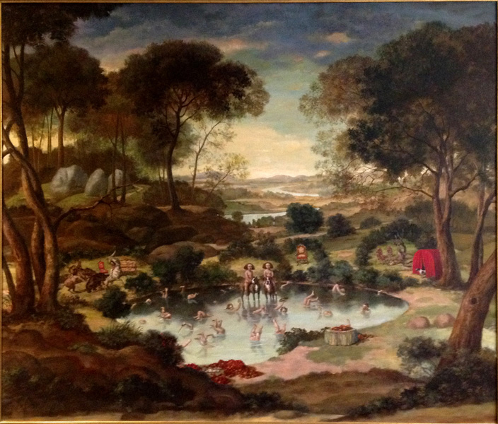 Landscape with Fountain of Youth