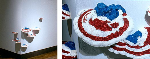 Field Guide to Allegorical and Metaphorical Plants: PATRIOT Fungus, Campaign Bunting Fungus
