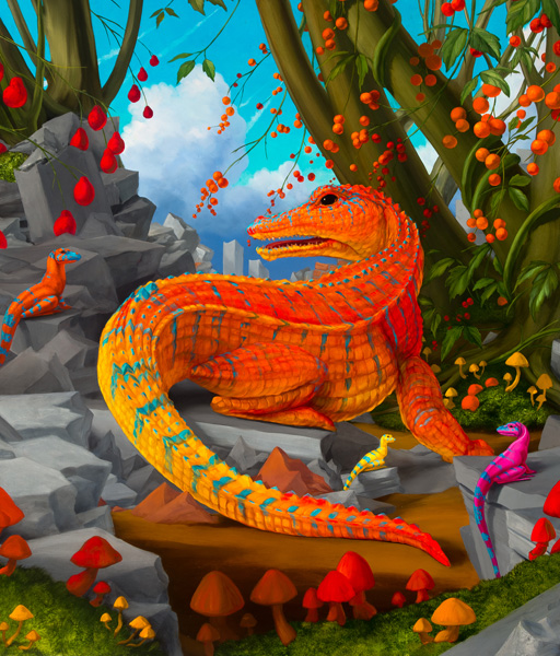 Amygdala Alligator