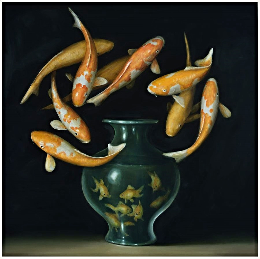 koi and goldfish