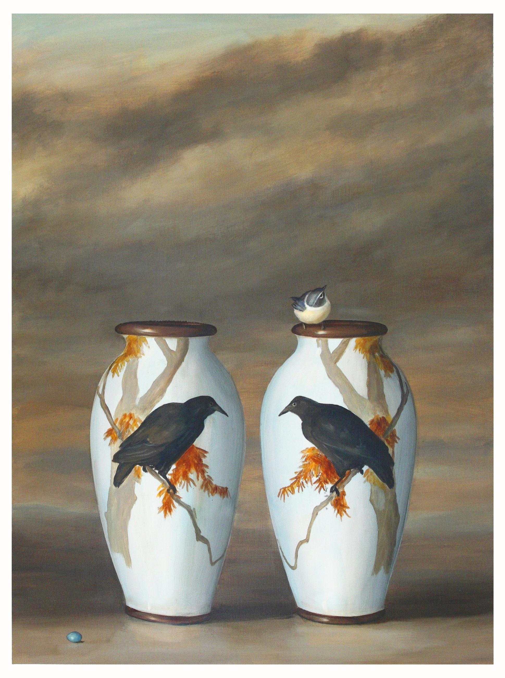 Crow Vases