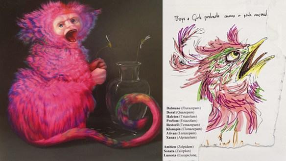 Inside the Sketchbook of Artist Laurie Hogin
