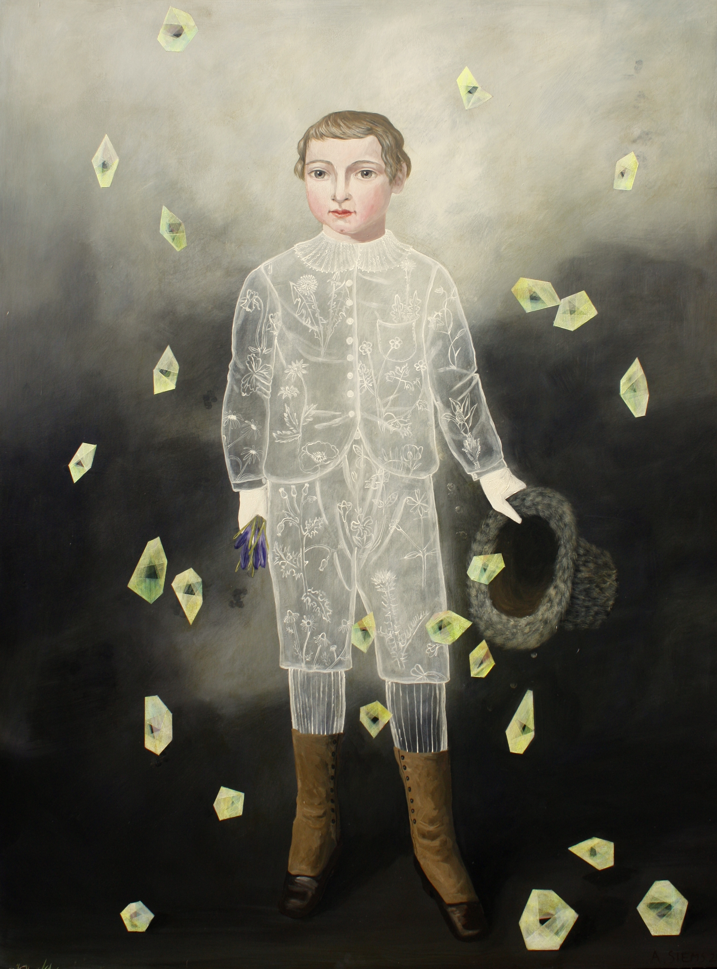 Young Magician I, 48x36