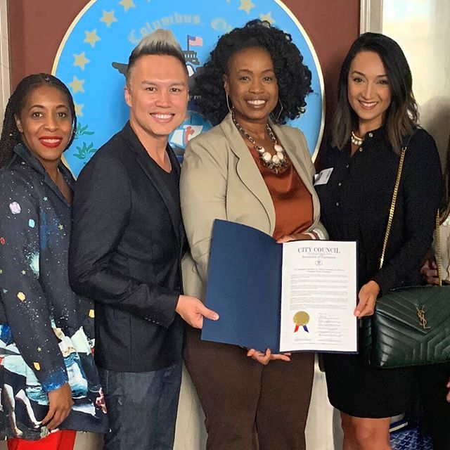 Executive resolution from the City of Columbus City Council adopting this week as the annual Fashion Week Columbus and honoring the Columbus Fashion Council as the economic development arm! Thank you Councilwoman Shayla Favor for being our champion alongside President Hardin & President Pro Tem Brown and honorable Council members! #columbusisfashion #lifeincbus #columbusohio #fashionweek #fwc19 #ilmodabrands