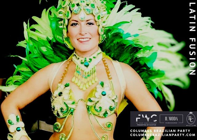 Keeping the theme of 'Latin Fusion' for the 6th Industry Mixer held this Friday, we welcome The Columbus Brazilian Party performer Tiffani Drew to Samba Dance live at the party! Tiffani will be doing a Carnival style dance performance called Samba!  It is a solo dance that can be seen in the Carnival at Rio de Janeiro, Brazil. 💃🏻 #fashionweekcolumbus #industrymixer #samba #brazilianparty #latinfusion #fashionshow #ilmodabrands