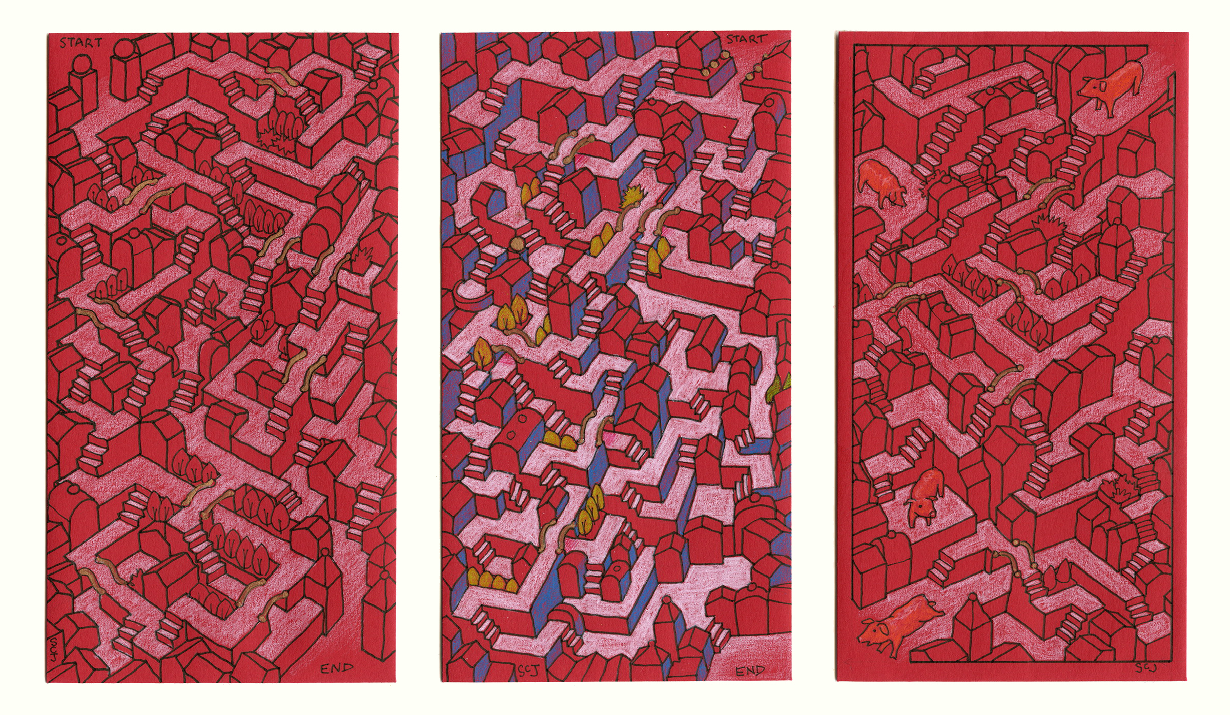 Red Envelope, 01, 02, 03