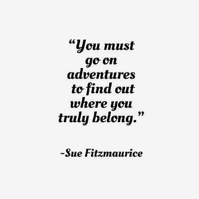 What adventures will you go on this week? You belong. 💫