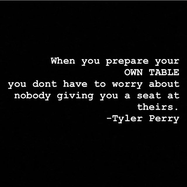 Yes, indeed! I'm pretty sure most business owners and entrepreneurs will agree. Create what you desire. Build it friends, as the world needs your gifts! ✨ Thank you @thecarlosking_ for the reminder as we start this week strong! . . . . . #repost #mondaymotivation #love #picoftheday #tylerperry