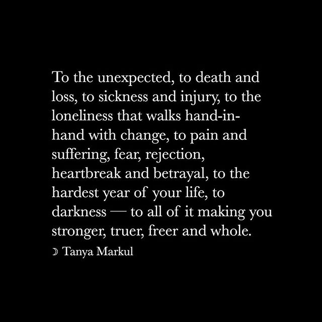 Because this is part of all of our stories. Thanks @thugunicorn for the reminder! ・・・ To anyone in it, you're not alone. . In the dark you were formed and in the dark you'll be reborn. @tanyamarkul . #repost #theshebooktwo 💫❤️🌹💋🦄