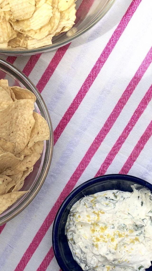 lemony yogurt dip - WEEKDAY WARRIORS