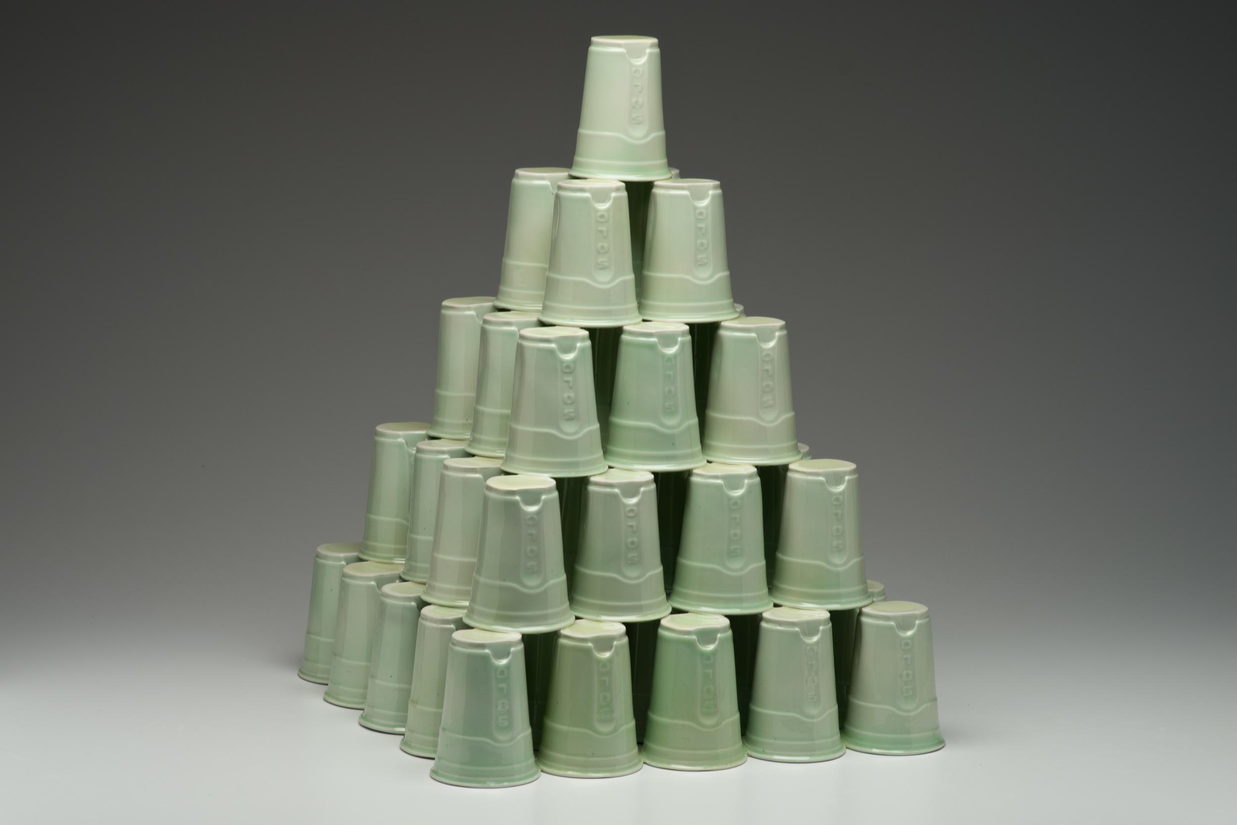 High Class Cup Pyramid