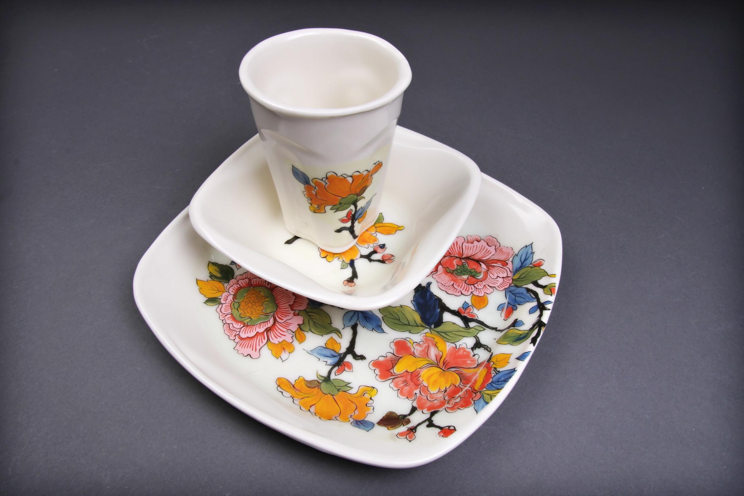 Floral Dinnerware Set