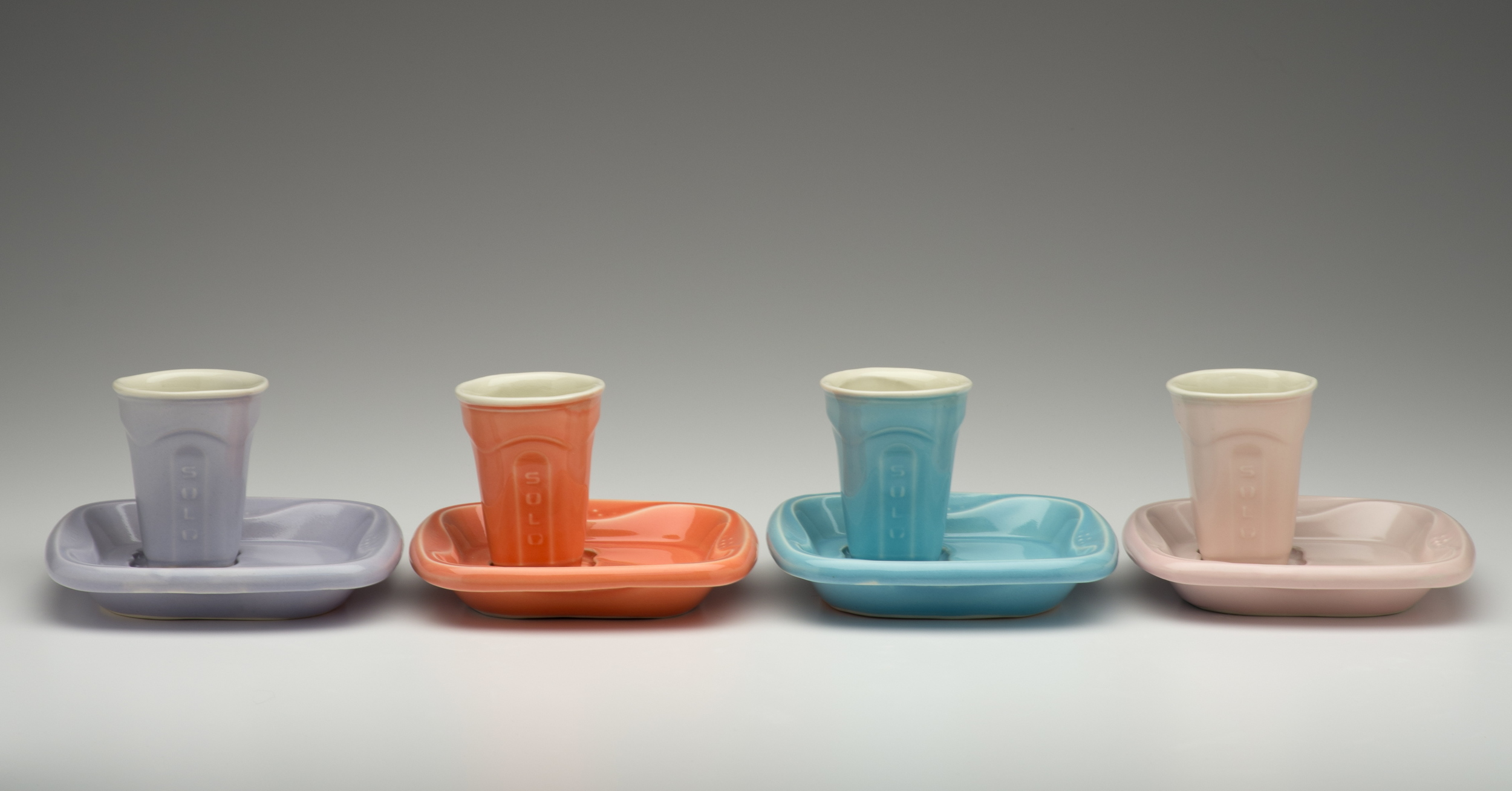 Solo Cup and Saucer Sets