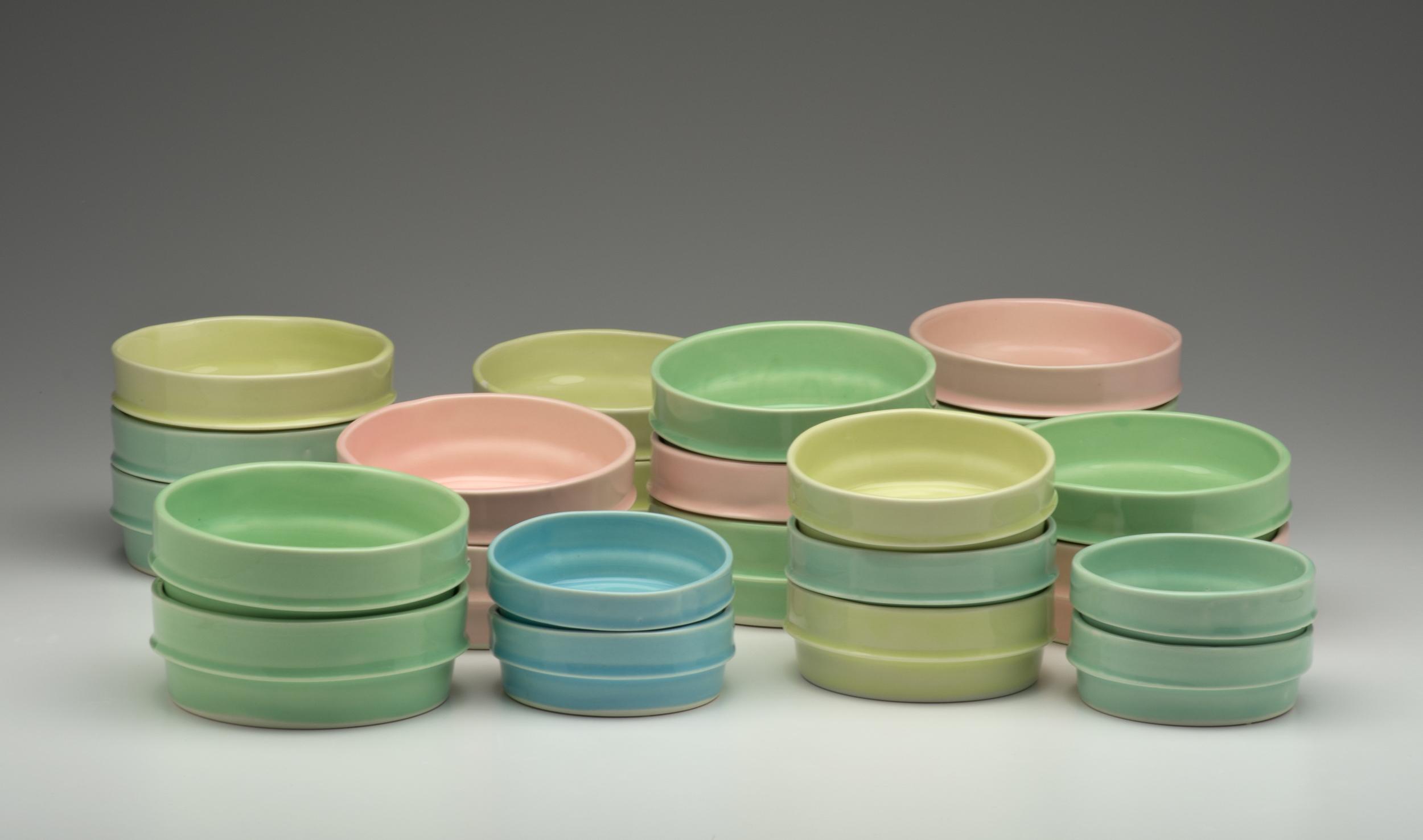 Tupperware Bowl Stack