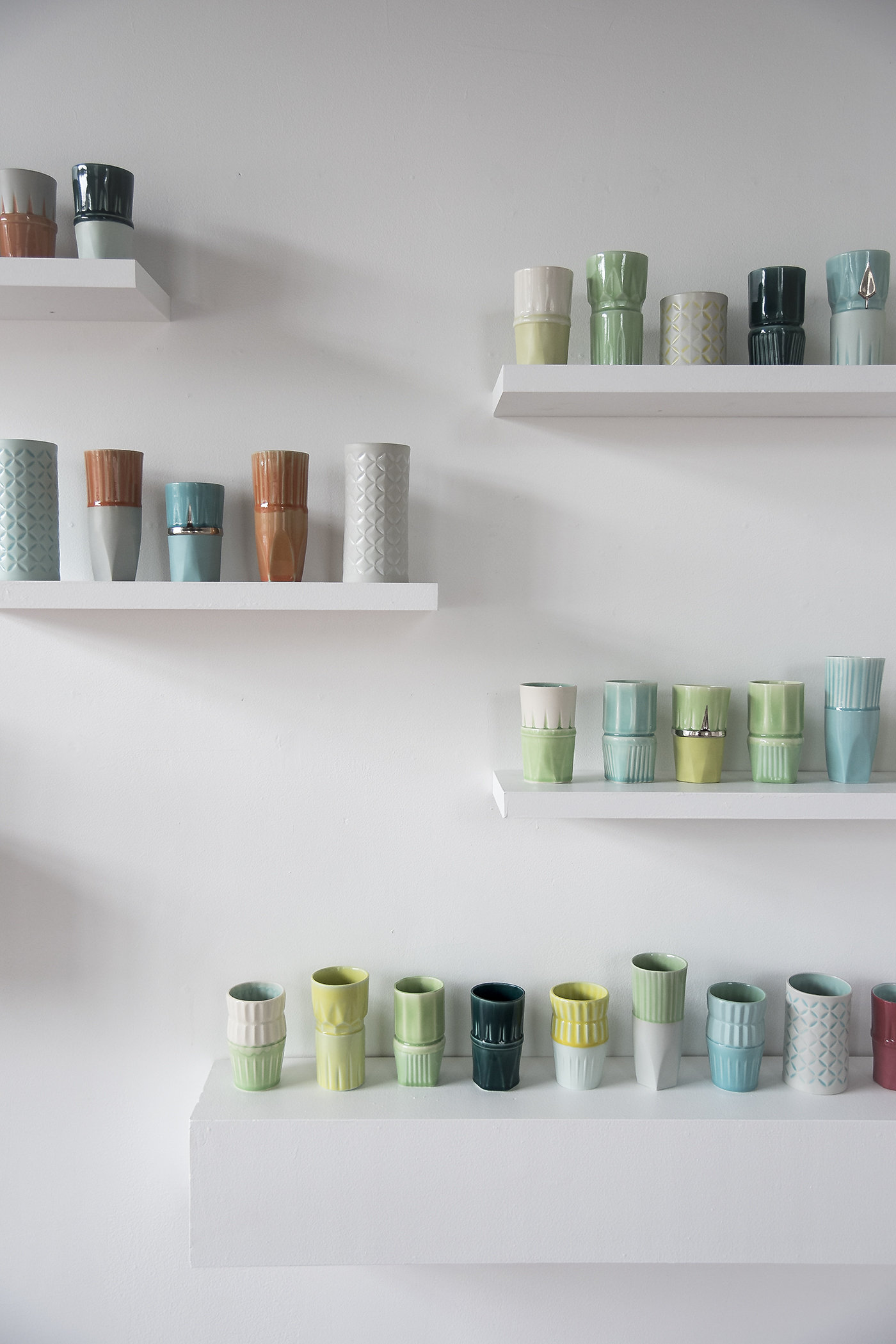 Assorted Cups and Vases