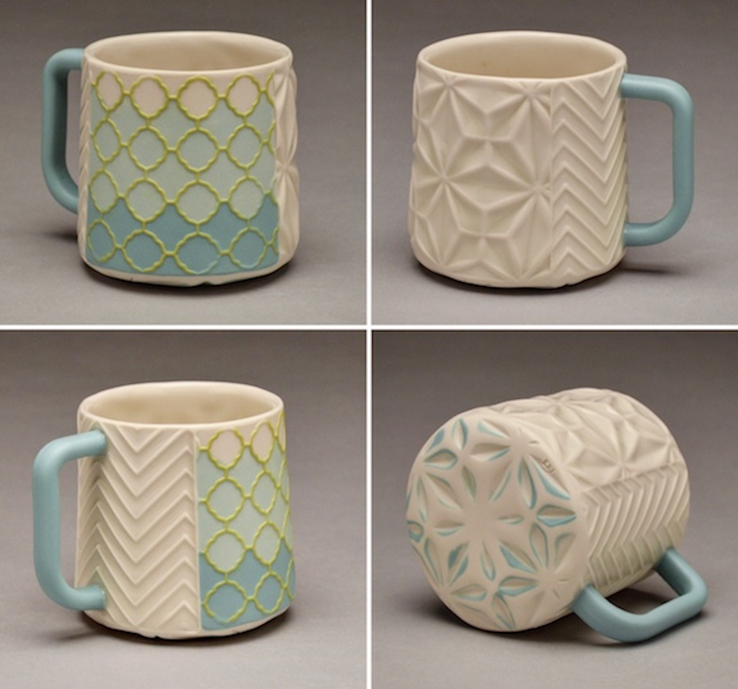 Turquoise and White Mug.jpg