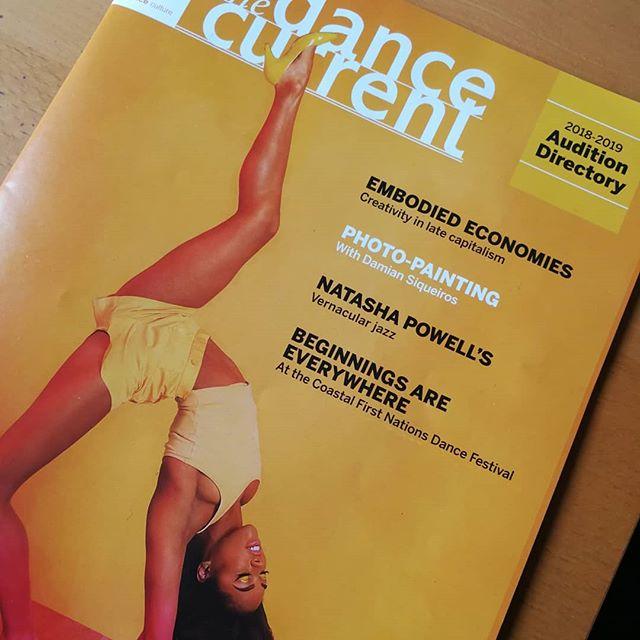 ICYMI: Check out this wonderful article written by @misscocomurray in the winter issue of the @thedancecurrent. @tashapowellto talks about how Holla Jazz came to be, the inspiration behind #FLOORD and so much more! . . #hollajazz #stepswithsoul #jazzitup #jazzdance #swingdance #torontojazz #jazz #jazzmusic #toronto #the6ix #torontodancers #choreography #thedancecurrent