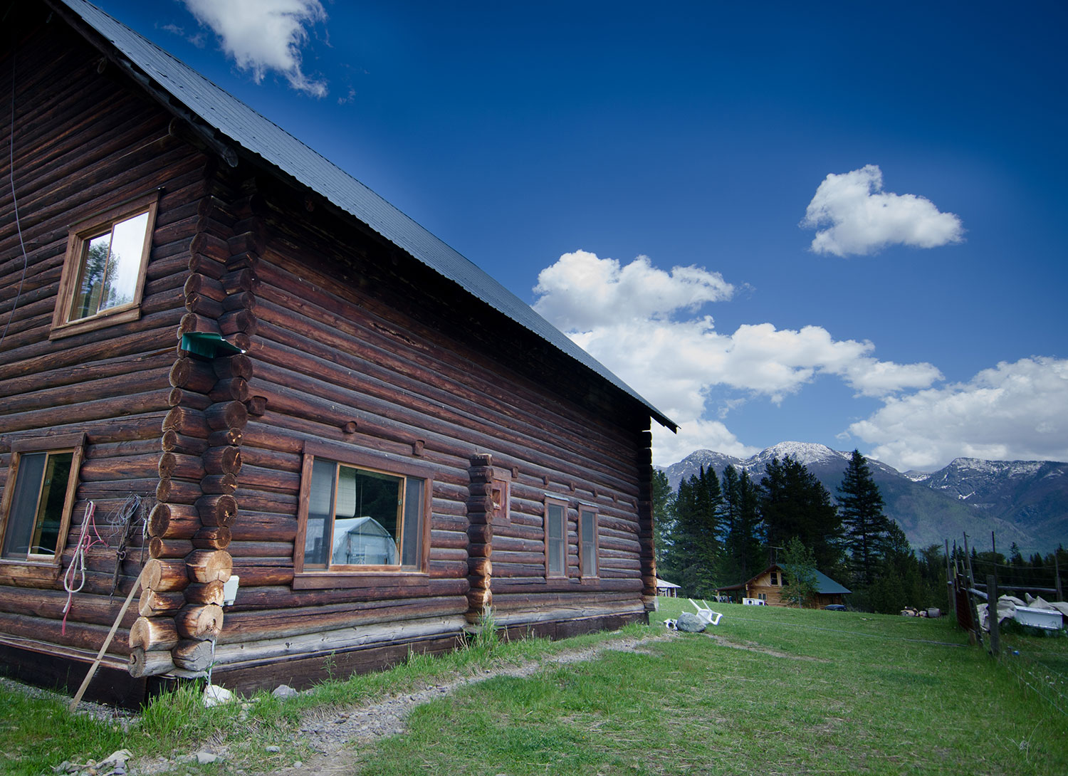"""""""The Barn"""" was built in the 1930's and serves as SVC's classroom and student bunkhouse."""