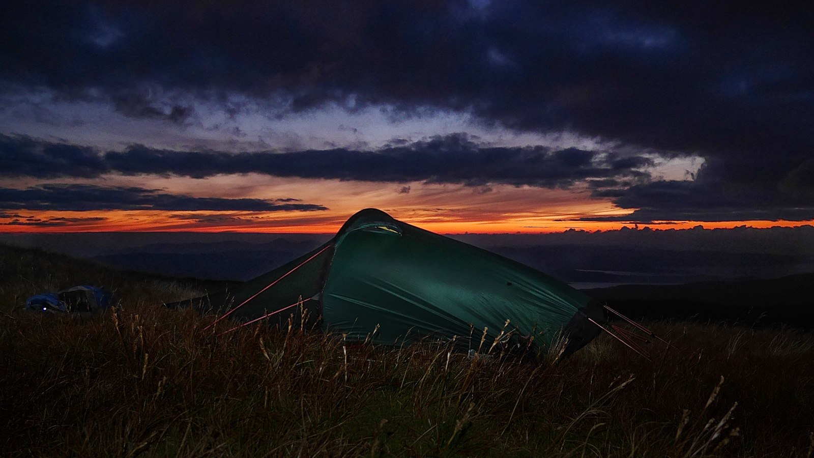 Camped High Beneath Hartaval