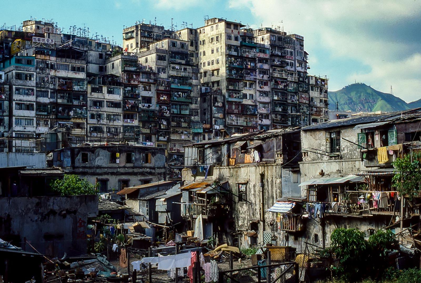 Kowloon Walled City 1985