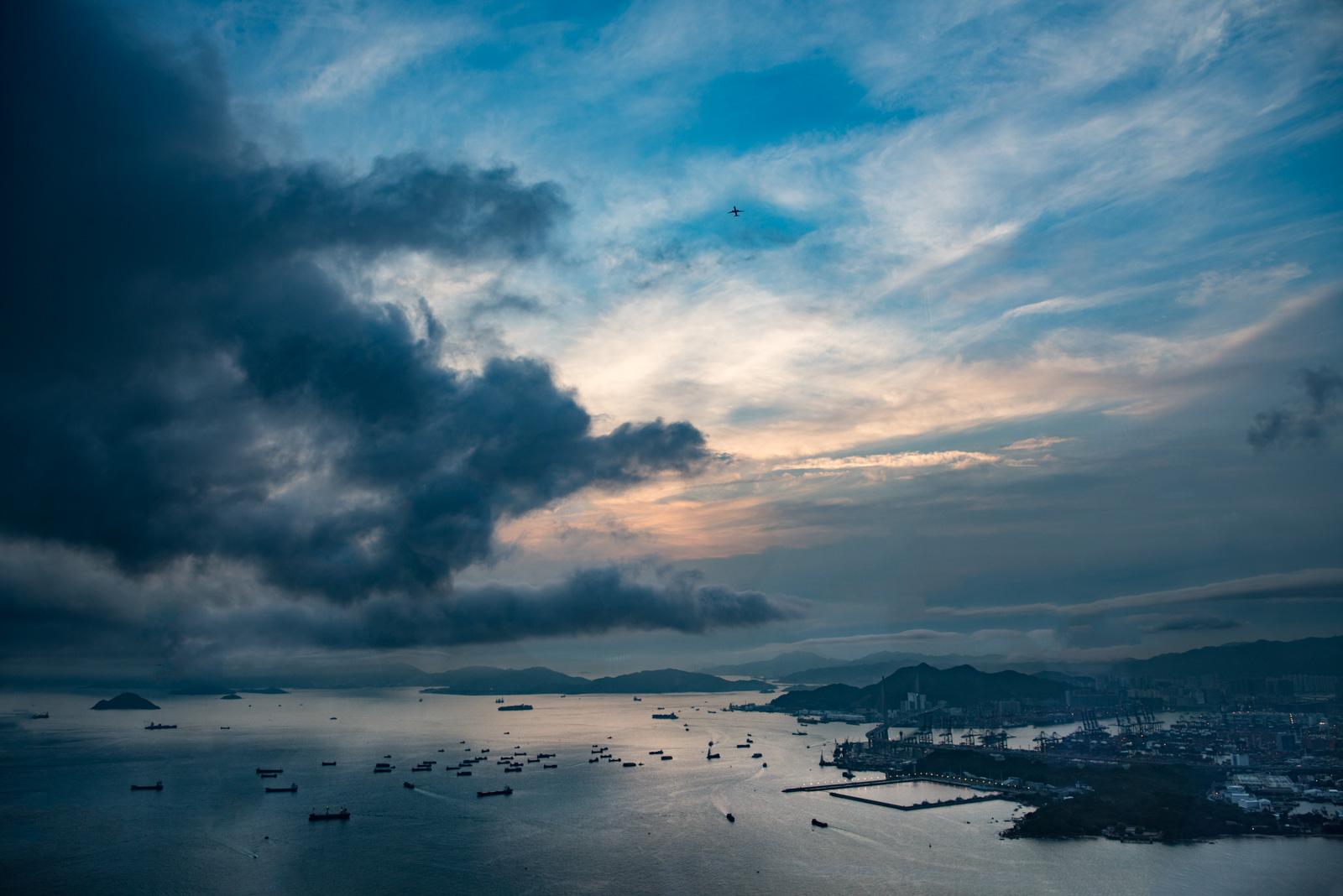 View Towards Lantau