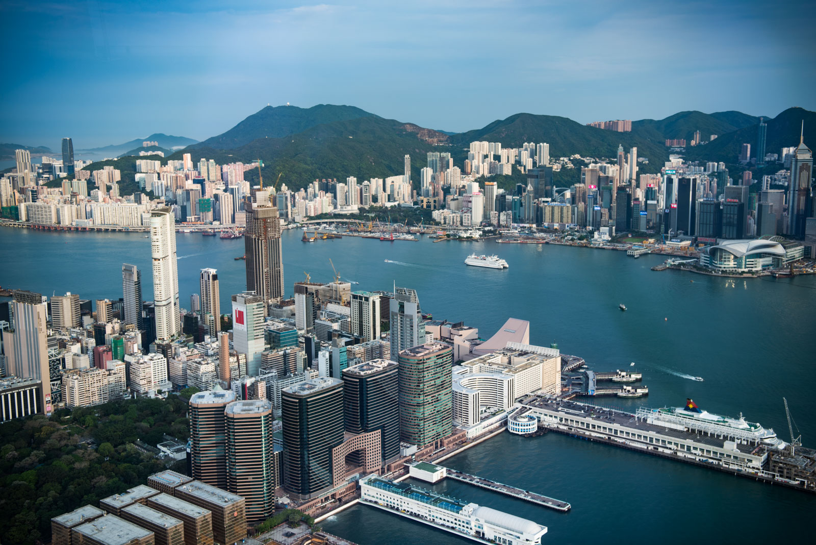 Victoria Harbour from ICC