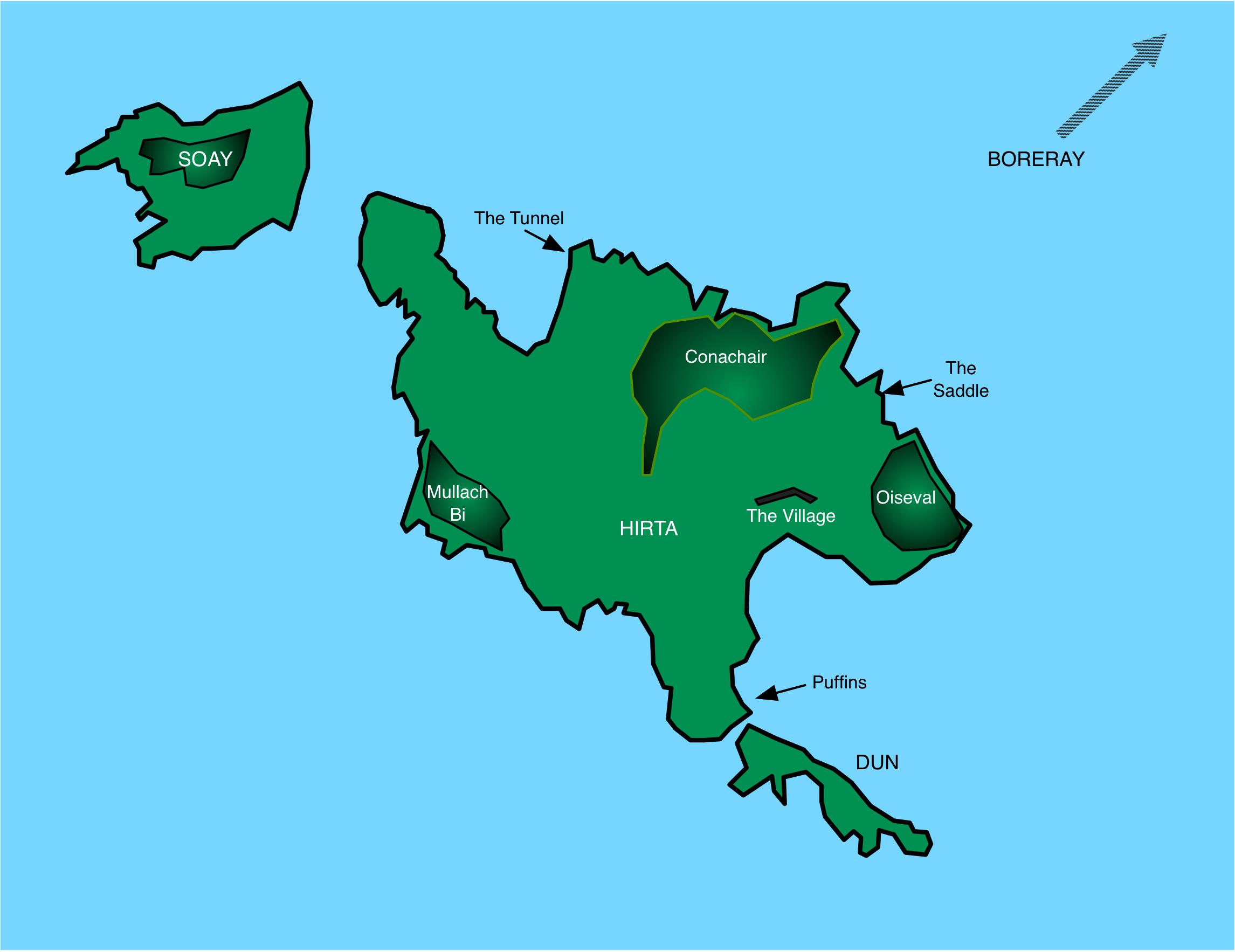 Map of St Kilda
