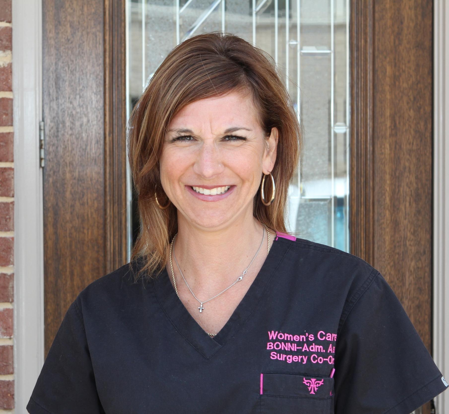 Bonni Brown  Surgery Co-ordinator
