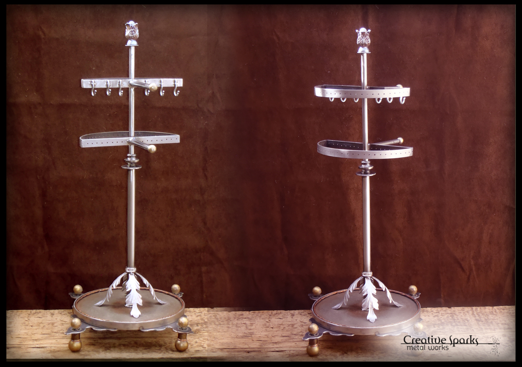 Jewelry Organizer Stand by Creative Sparks Metal Works