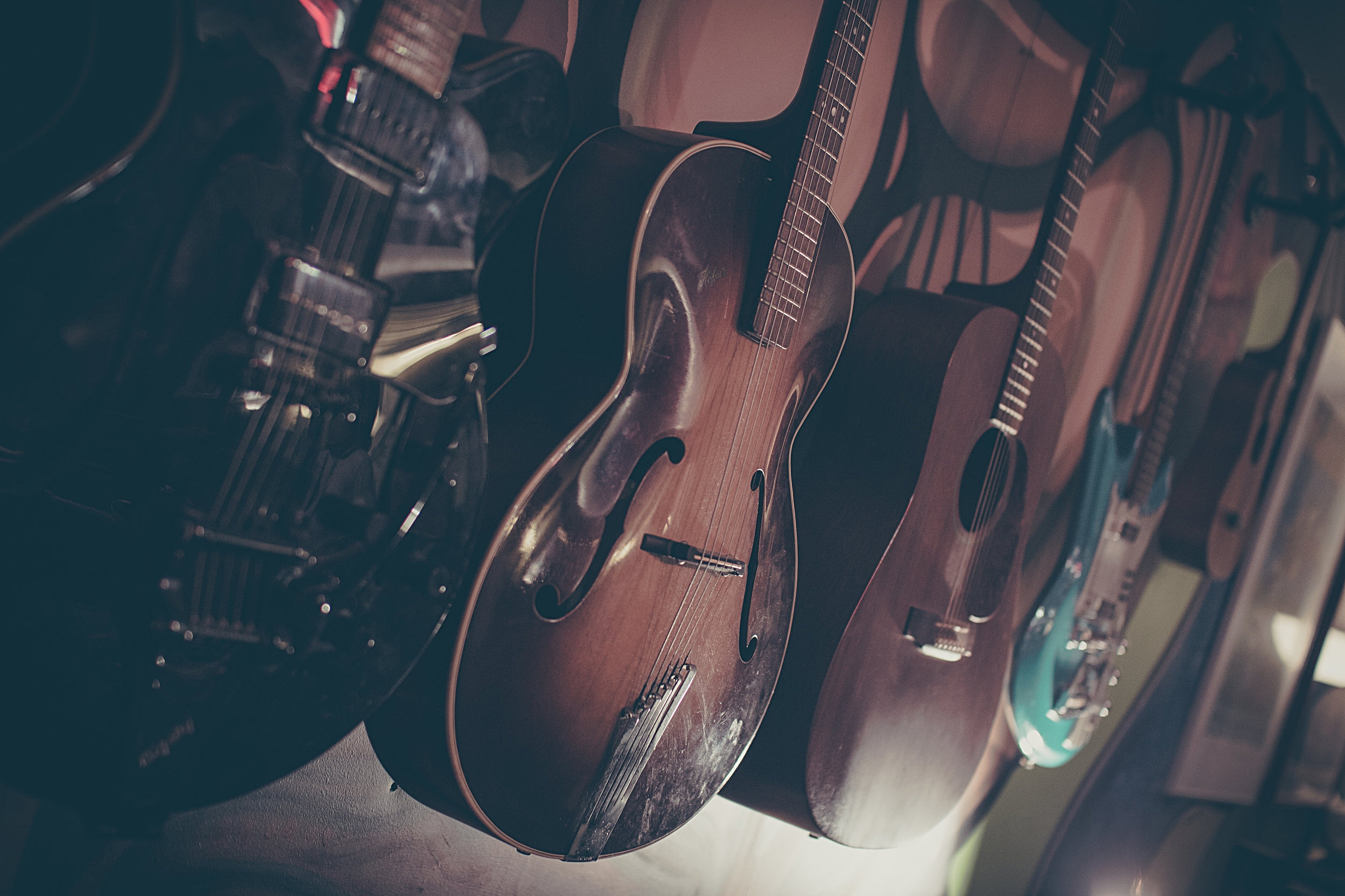 Guitars at Pinhole Sound Studio
