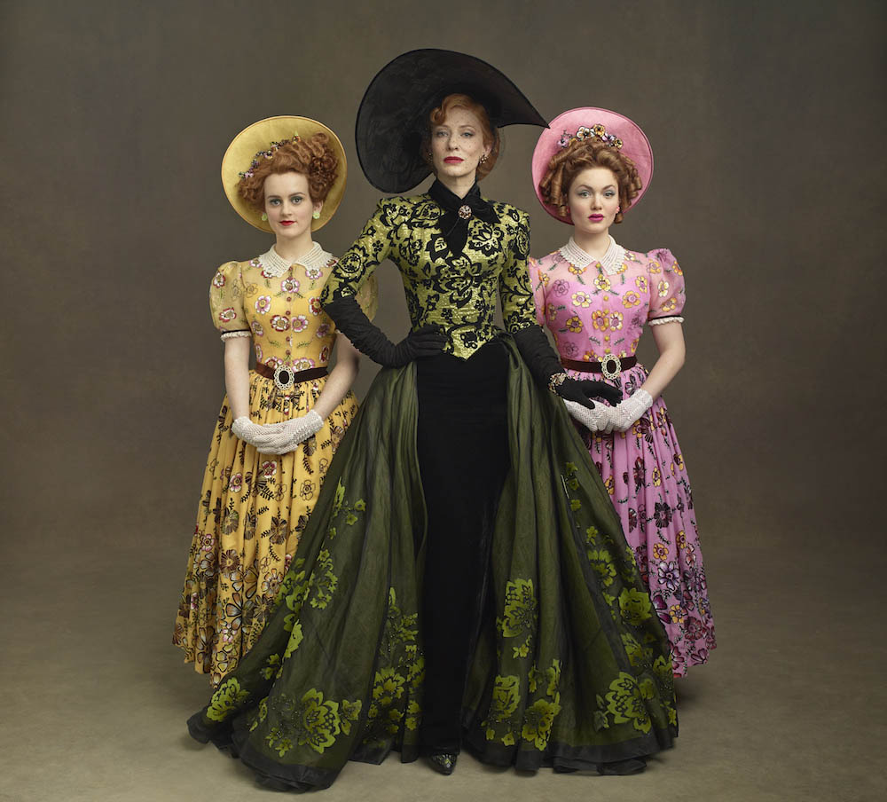 Lady Tremaine and the Girls from Cinderella (2015)