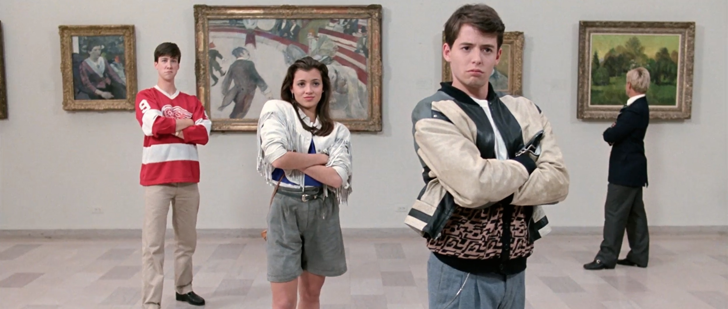 Cast from Ferris Bueller's Day Off