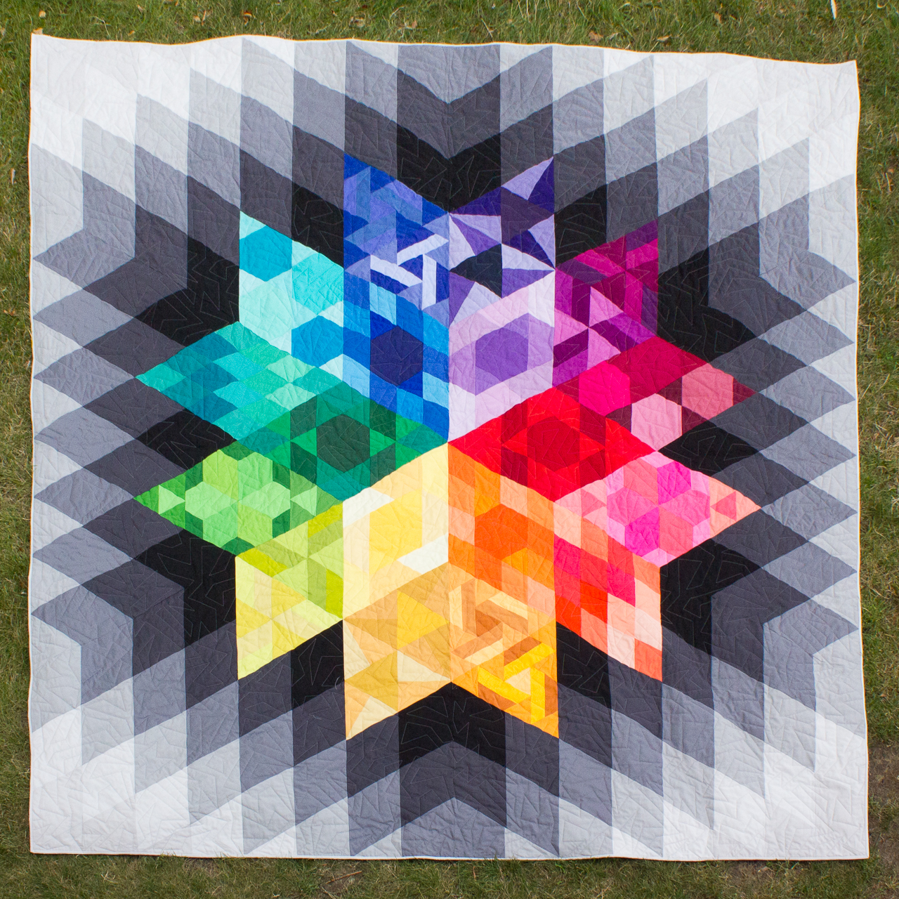 GRAVITY QUILT Pattern by Jay Bird Quilts