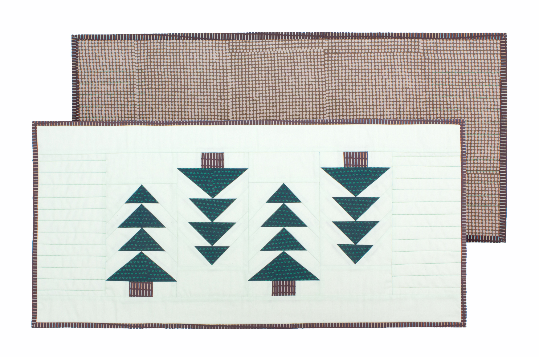 JINGLE GEESE TABLE RUNNER Pattern by Jeli Quilts