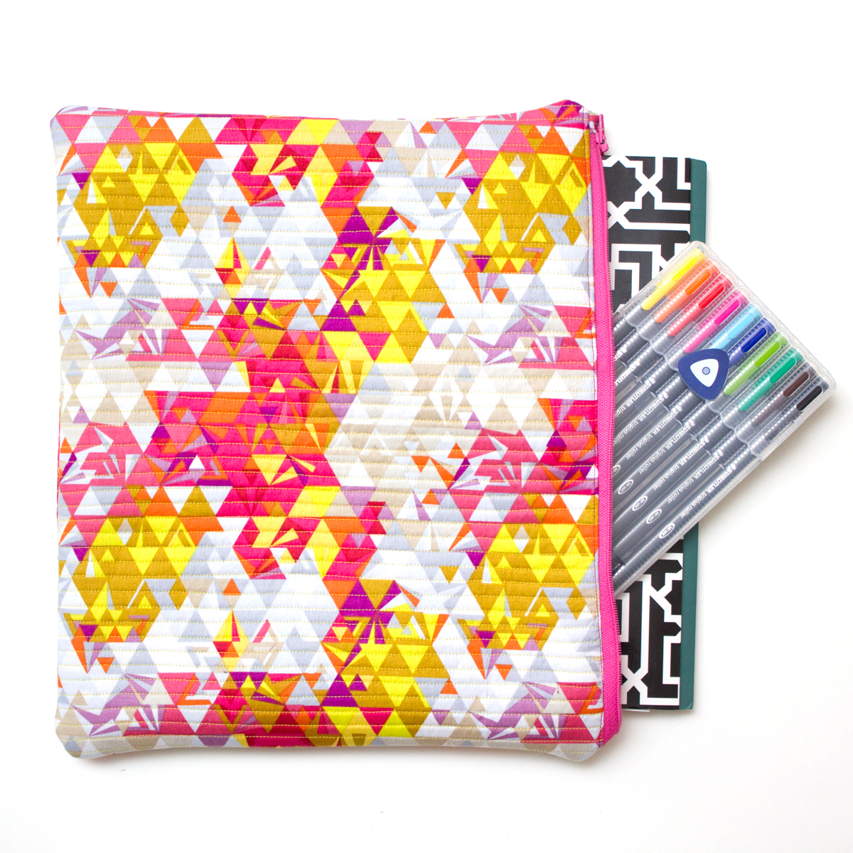 QUILTED FILE FOLDERS Pattern by Modern Handcraft