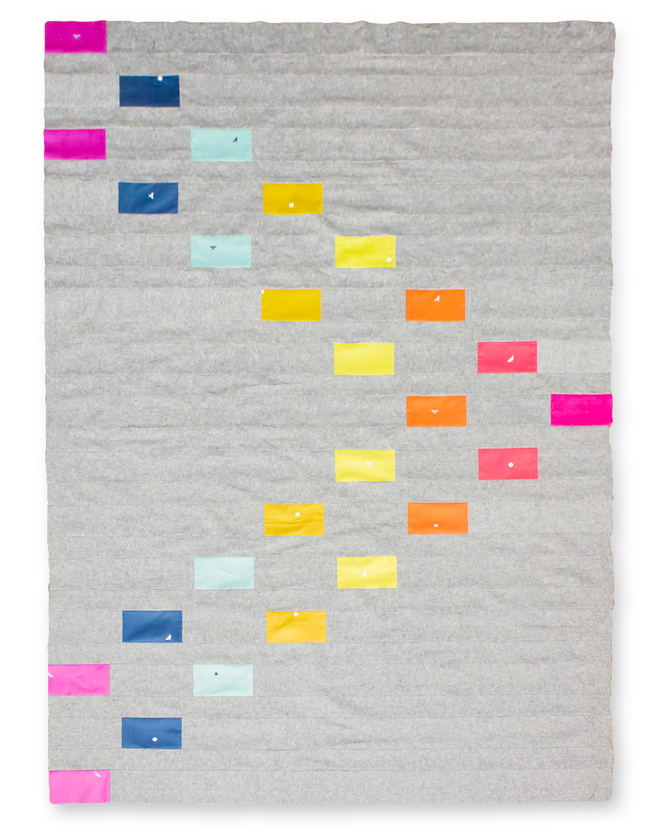 PUNCHLINES QUILT Pattern by Laura McDowell Hopper