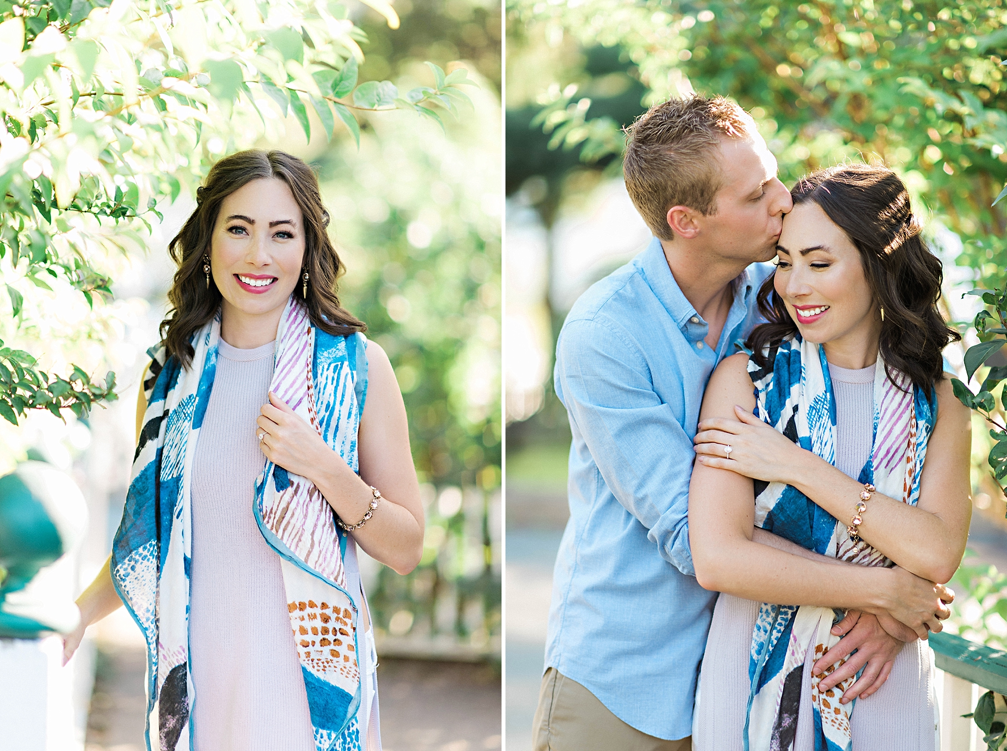 Romantic Seaside Beach Engagement Shoot in Lulu's long flowy maxy dress_007.jpg