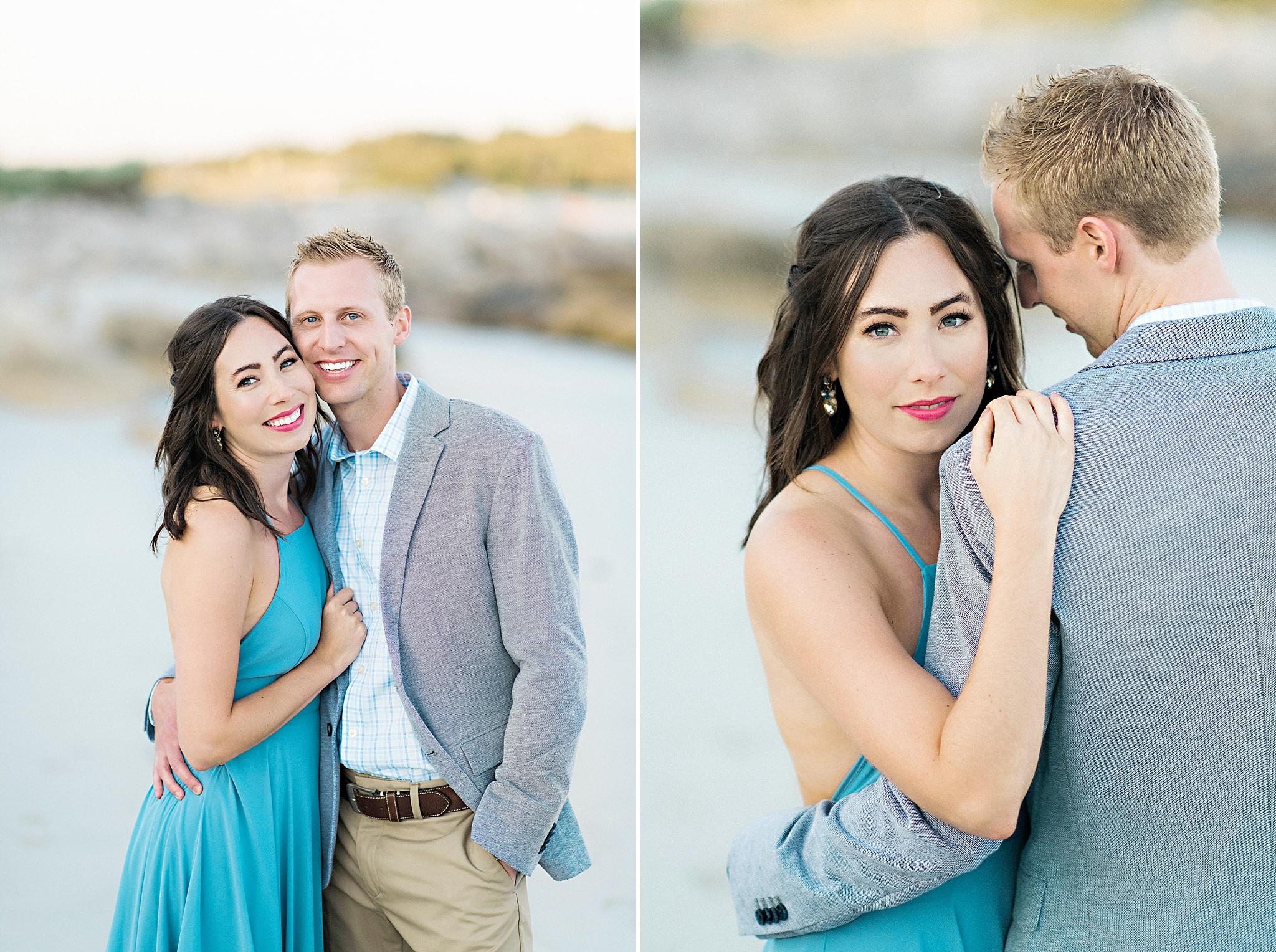 Romantic Seaside Beach Engagement Shoot in Lulu's long flowy maxy dress_025.jpg