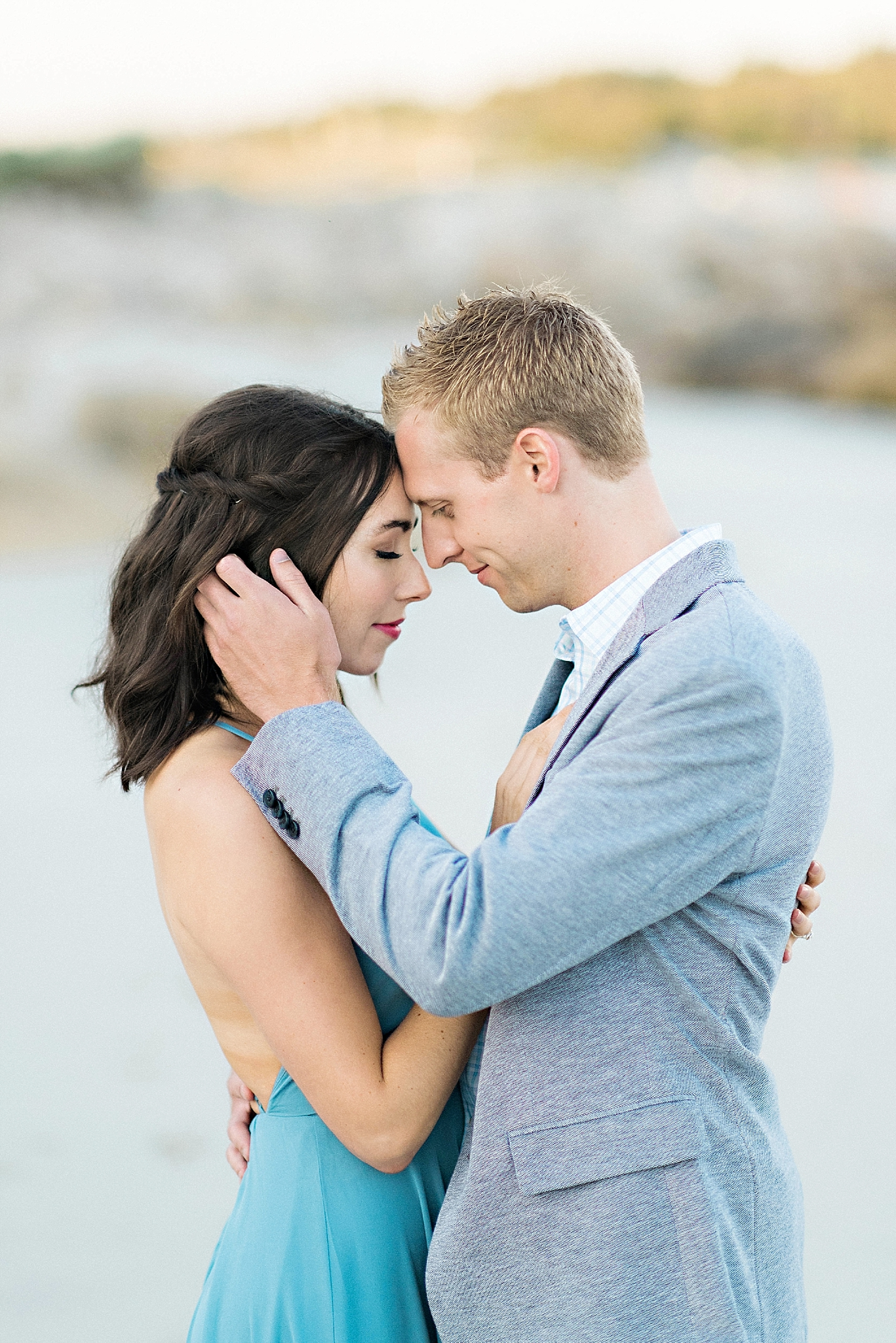 Romantic Seaside Beach Engagement Shoot in Lulu's long flowy maxy dress_027.jpg