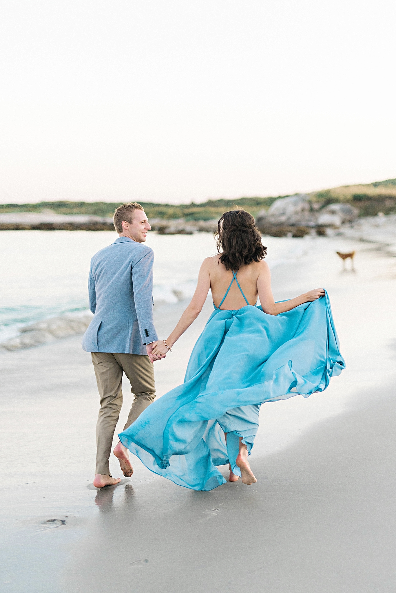 Romantic Seaside Beach Engagement Shoot in Lulu's long flowy maxy dress_033.jpg
