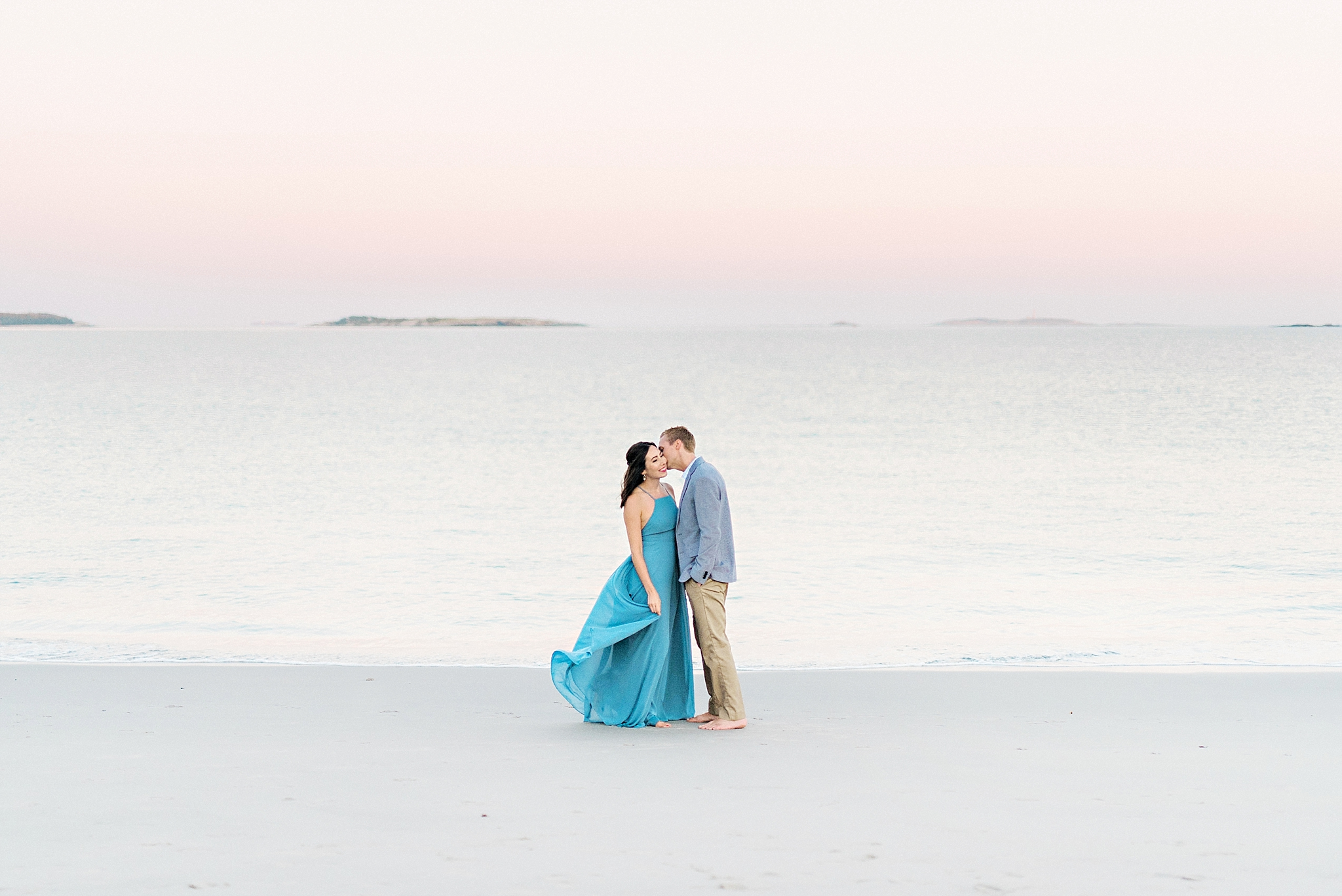 Romantic Seaside Beach Engagement Shoot in Lulu's long flowy maxy dress_037.jpg