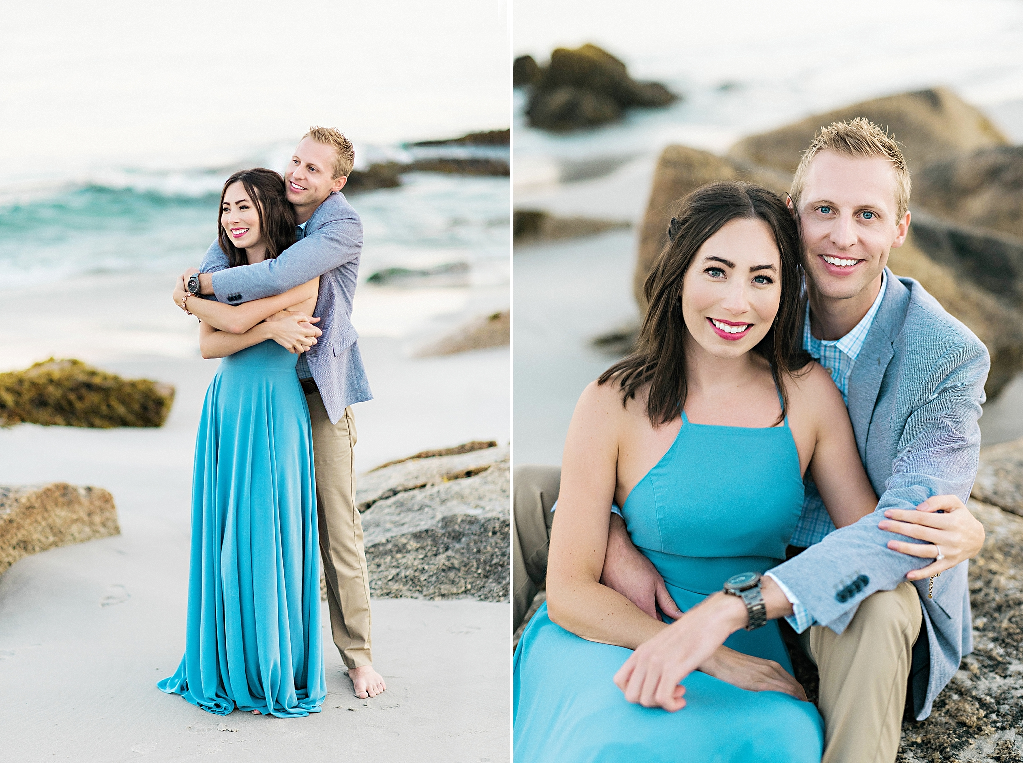 Romantic Seaside Beach Engagement Shoot in Lulu's long flowy maxy dress_036.jpg