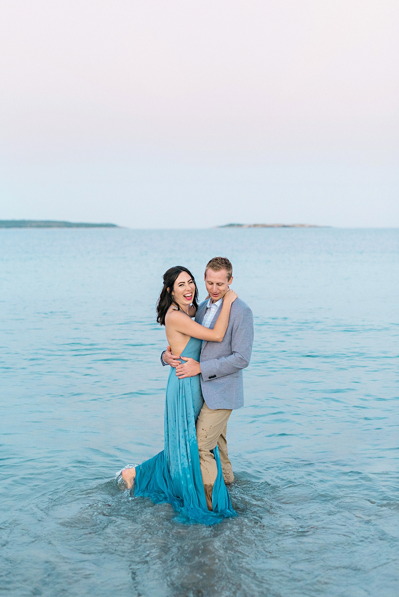 Romantic Seaside Beach Engagement Shoot in Lulu's long flowy maxy dress_043.jpg