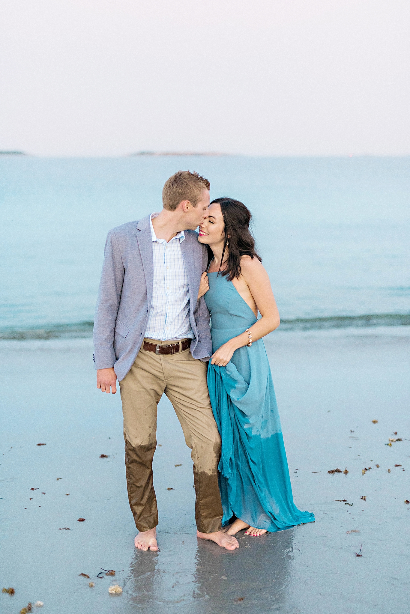 Romantic Seaside Beach Engagement Shoot in Lulu's long flowy maxy dress_045.jpg