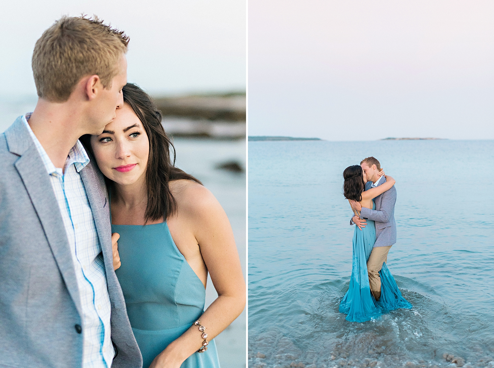 Romantic Seaside Beach Engagement Shoot in Lulu's long flowy maxy dress_047.jpg