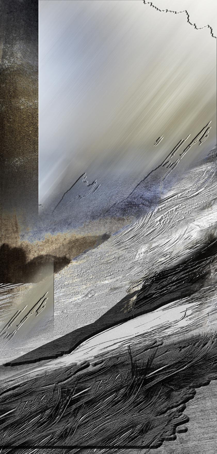 Oceany traw 8, Szyba - zima, 100x48, 2000.jpg