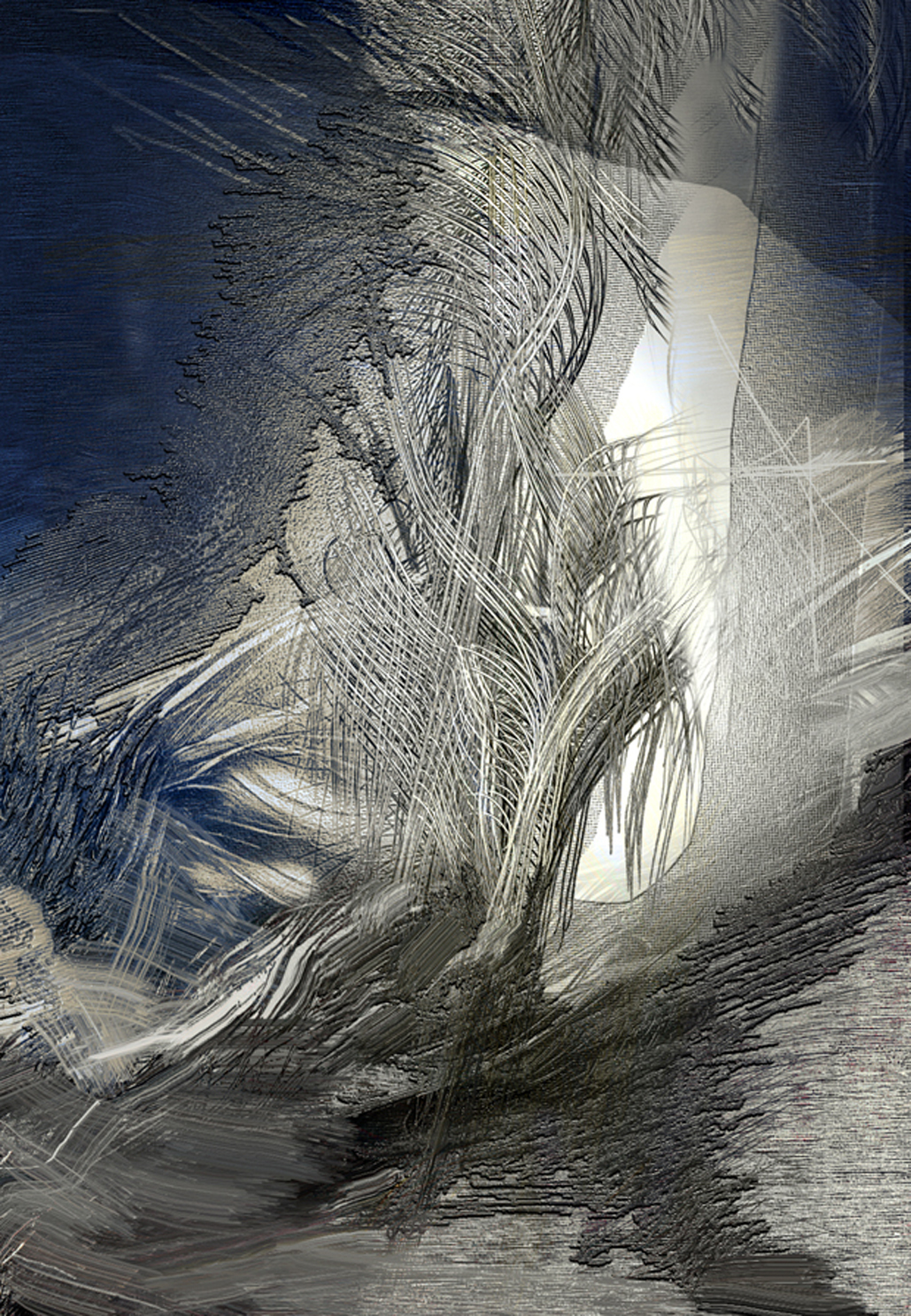 wiatr 1, Błękitna linia , 56x39, 2001.jpg