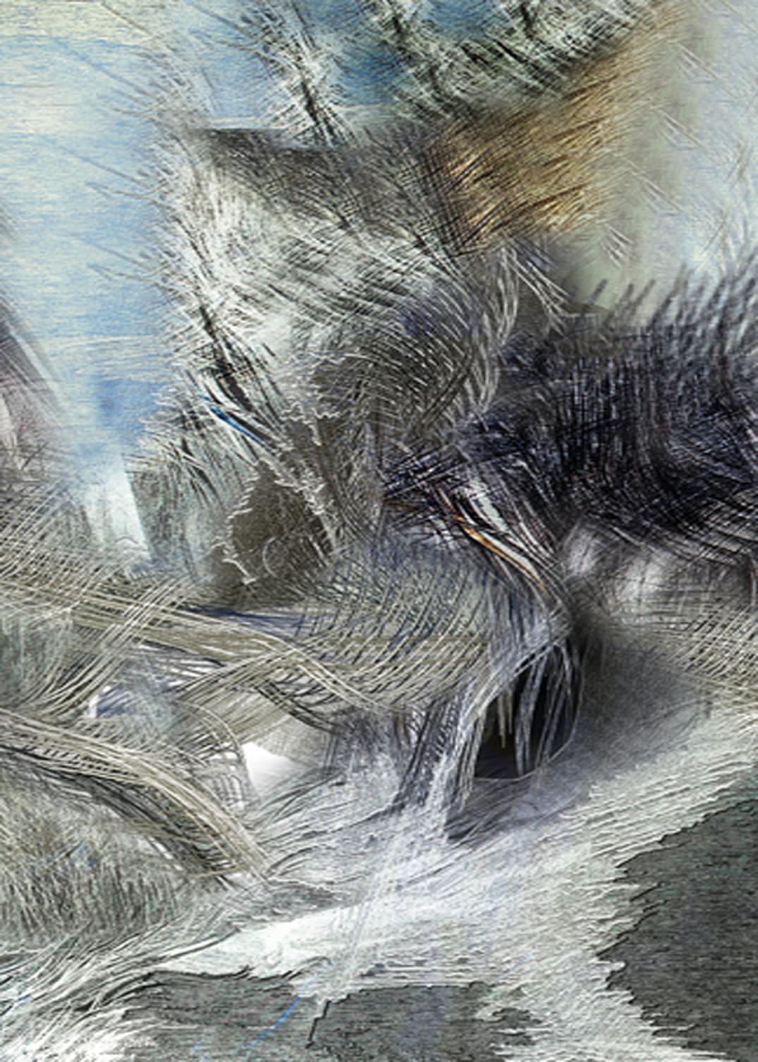 Wiatr 11, Błękitna linia , 56x39, 2001.jpg